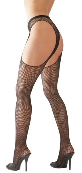 Sex-Strumpfhose schwarz L/XL