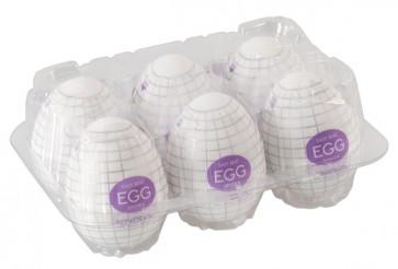 Tenga Egg Spider 6er