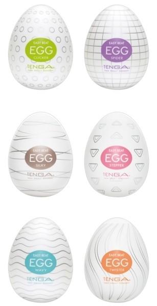 Tenga Egg Variety 1 6er