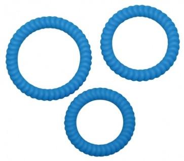Lust 3 Penisringe Blue