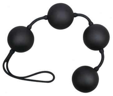 Velvet Black Balls 4er Kugeln
