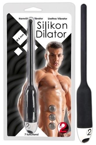 Silikon Dilator schwarz