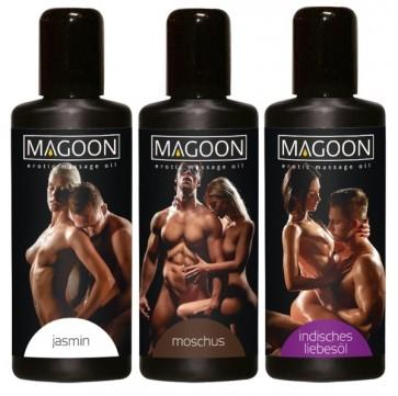 3er Set Massage-Öle 50 ml