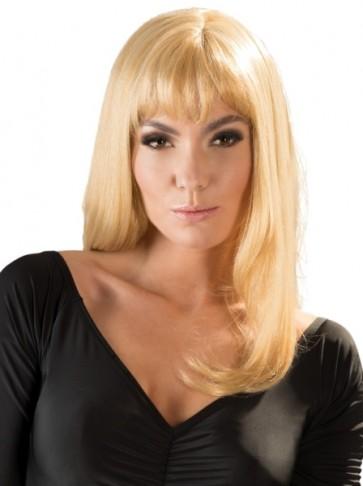 Perücke blond, lang