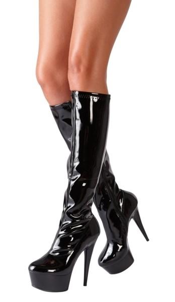 Stiefel aus Lack