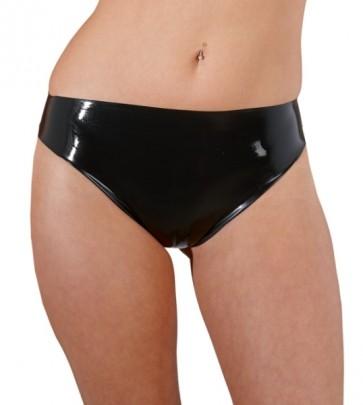Latex Slip schwarz XL