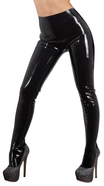 Latex Strumpfhose schwarz 2XL