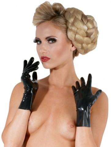 Latex Handschuhe kurz L