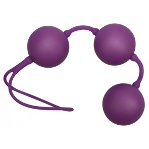 Velvet Purple Balls 3er Kugeln