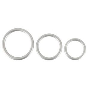 Metallic Silicone Cock ring se