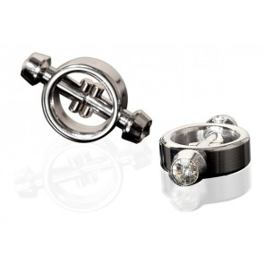 Magnetic Nipple Clamps Silver