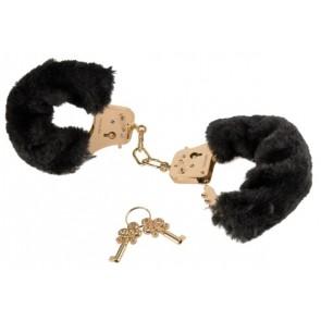 FFS Gold Deluxe Furry Cuffs