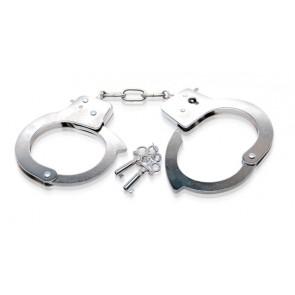 FFSLE Metal Handcuffs Silver