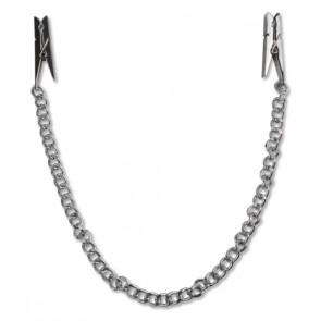 FFS Nipple Chain Clips Silver