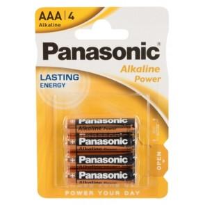 Batterie Panasonic AAA 12x4er