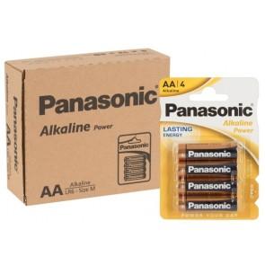 Batterie Panasonic AA 12x4er