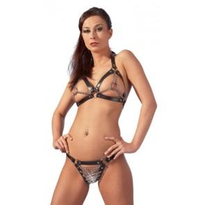 Leder Bikini S-L