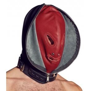 Leder Doppelmaske