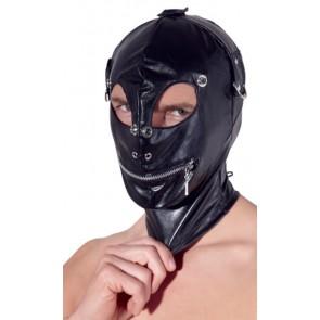 Lederimitat Maske