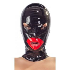 Latex Kopfmaske Lips