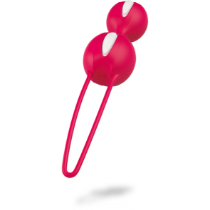 FUN FACTORY® SMARTBALLS DUO white / india red