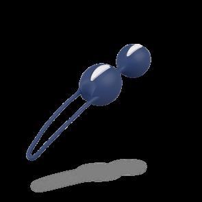 FUN FACTORY® SMARTBALLS DUO white / dark blue