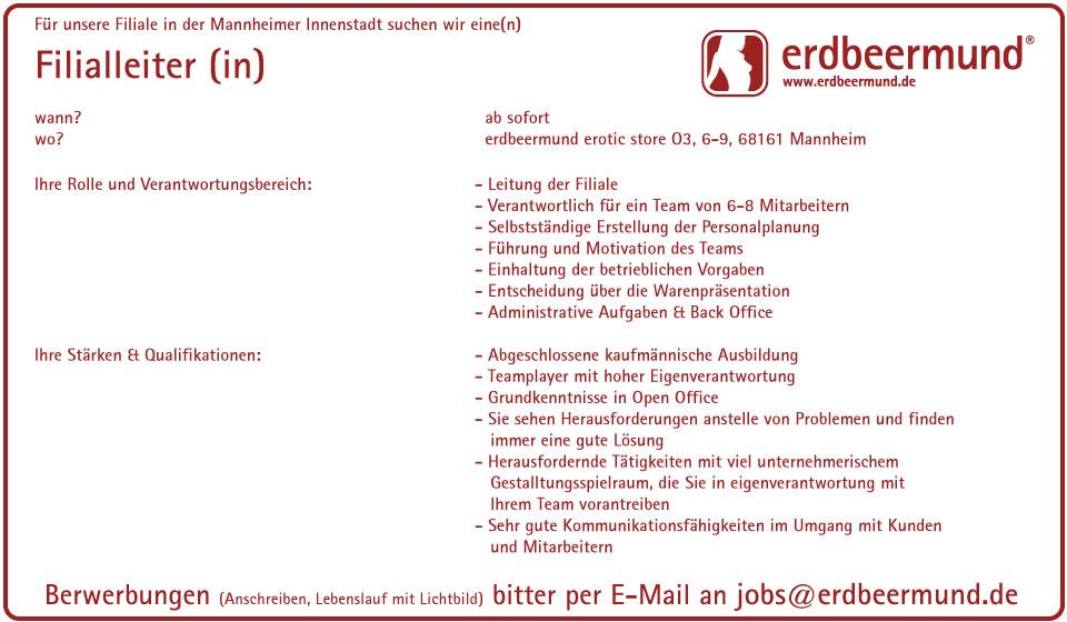 Filialleiter Mannheim