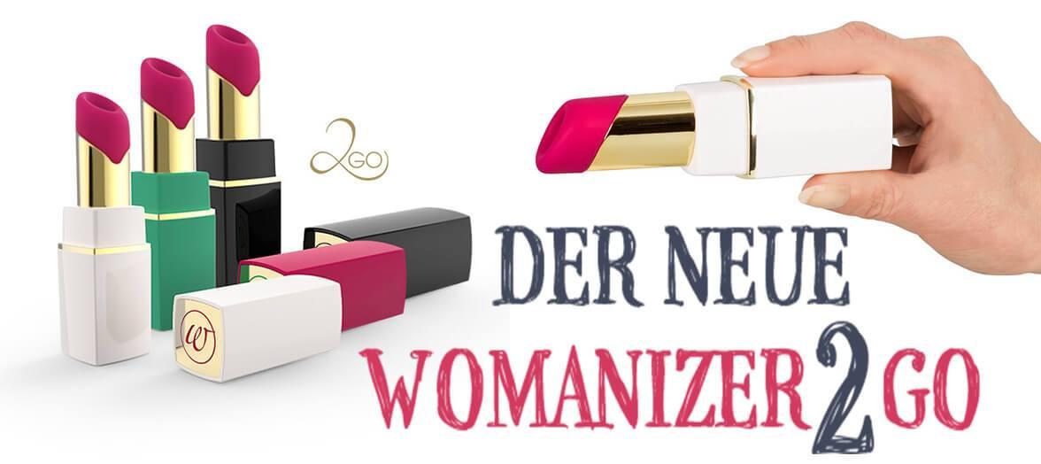 NEU! Womanizer 2GO - Das Sextoy des Jahre 2017.